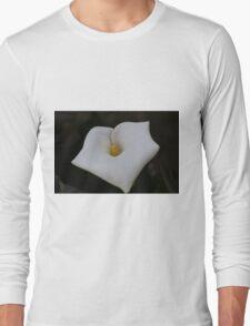 white lilies Long Sleeve T-Shirt