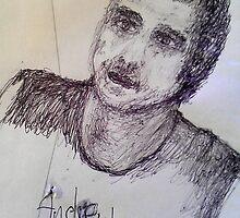 Andrew Johns Portrait by MardiGCalero