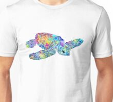 Sea Turtle Watercolor Art Unisex T-Shirt