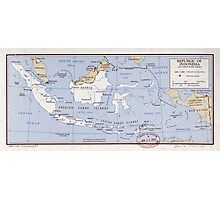 Republic of Indonesia and Portuguese Timor (1962) Photographic Print