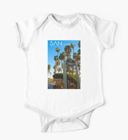 San Clemente California One Piece - Short Sleeve