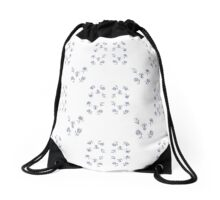 dutch flowers Drawstring Bag