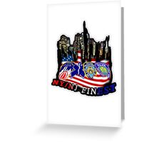 nypd,fdny,emt,papa,9 11,never forget ,hero,usa, Greeting Card