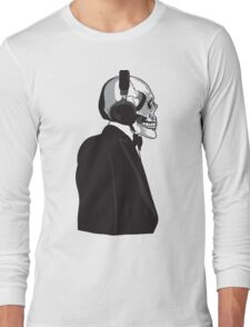 Skull and Suit Long Sleeve T-Shirt