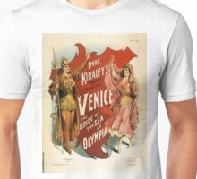 Venice - the bride of the sea at Olympia - Strobridge - 1891 Unisex T-Shirt
