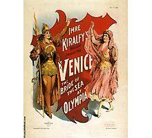 Venice - the bride of the sea at Olympia - Strobridge - 1891 Photographic Print