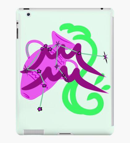 Aquarius Star&Sign iPad Case/Skin