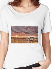 Arthur's stone Gower Swansea Women's Relaxed Fit T-Shirt