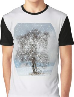 Nature and Geometry - The Sad Tree Graphic T-Shirt