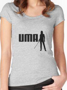 P-UMA (A Kill Bill take on Puma) Women's Fitted Scoop T-Shirt