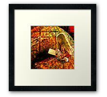 A Corner of the Garden Framed Print