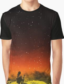 Burning Hill Graphic T-Shirt