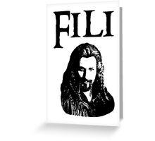 Fili Portrait Greeting Card