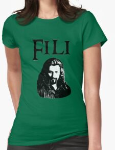 Fili Portrait Womens Fitted T-Shirt