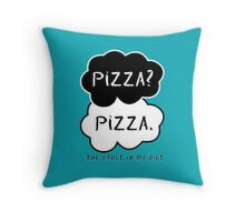 The Fault In My Diet Throw Pillow