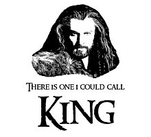 """""""There Is One I Could Call King."""" Photographic Print"""