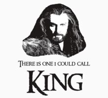 """There Is One I Could Call King."" Kids Clothes"