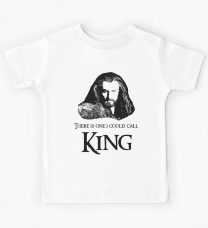 """""""There Is One I Could Call King."""" Kids Tee"""