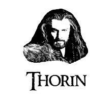 Thorin Oakenshield Portrait Photographic Print