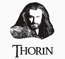 Thorin Oakenshield Portrait Kids Tee