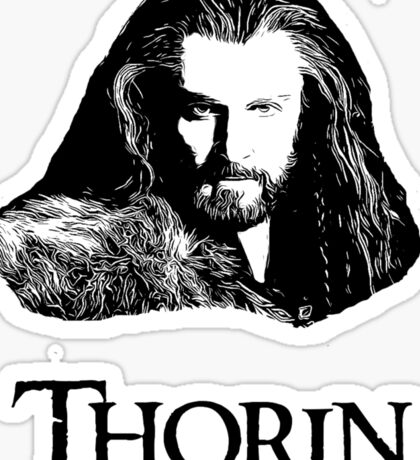Thorin Oakenshield Portrait Sticker