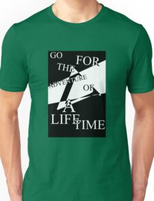 Adventure of a Lifetime Typography Unisex T-Shirt