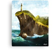 At the End of the Earth Canvas Print