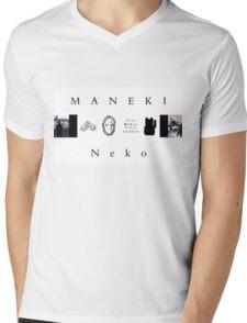 BCR Banner Label Mens V-Neck T-Shirt