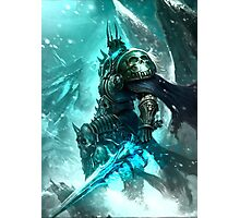 Arthas, the Lich King Photographic Print