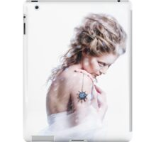 Beautiful girl with glamour Christmas makeup iPad Case/Skin