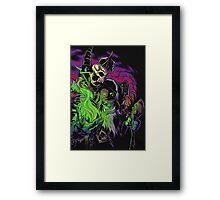 Gul'dan, the Warlock Framed Print