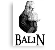 Balin Portrait Canvas Print