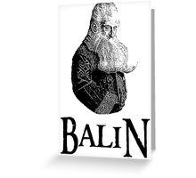 Balin Portrait Greeting Card