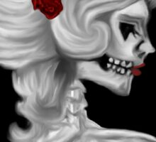 Skull Cameo Sticker