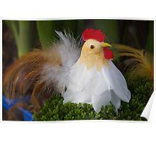 Easter hen Poster