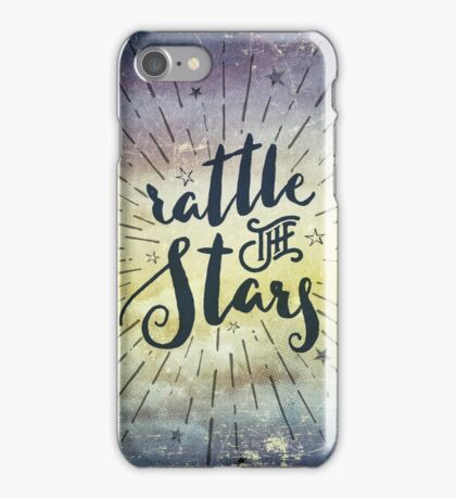 Rattle The Stars - Throne of Glass iPhone Case/Skin