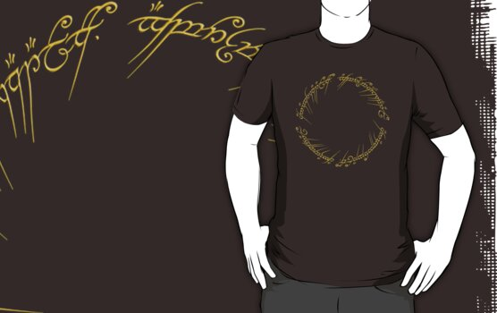 The One Ring Inscription by Jared McGuire