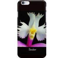 Beaker - Orchid Alien Discovery iPhone Case/Skin