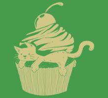 CatCake ou CuteCat - Burgundy Kids Tee