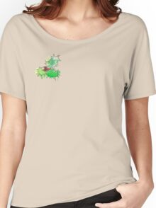 Holly Leaf (With berries) [Coloured] Women's Relaxed Fit T-Shirt