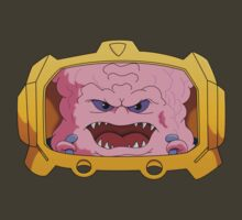 Krang from Dimension X by Jared McGuire