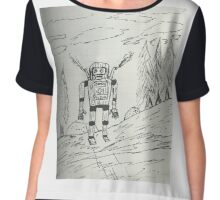 Search and rescue robot  Chiffon Top