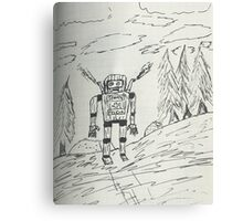 Search and rescue robot  Canvas Print