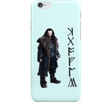 Thorin in Runes iPhone Case/Skin