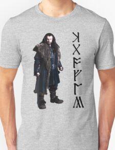 Thorin in Runes Unisex T-Shirt