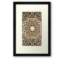 Ornament design Framed Print