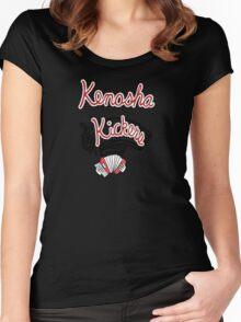 Kenosha Kickers Women's Fitted Scoop T-Shirt