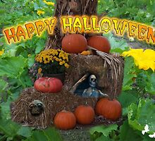 Happy Halloween Card by TJ Baccari Photography