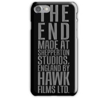 THE END from Dr. Strangelove or: How I Learned to Stop Worrying and Love the Bomb iPhone Case/Skin