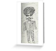 Spy 'bot  Greeting Card